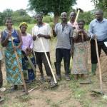 Un gruppo di contadini del distretto di Songea.