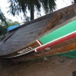 Una delle due barche realizzate dal progetto Wavuvi.