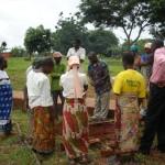 Grazie al progetto, dopo un seminario sulla frutticoltura, sono stati piantati circa 70 alberi da frutto.