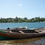 Messa in acqua della barca Wavuvi-1.