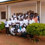 Gli studenti che hanno partecipato al corso di formazione.