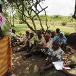 Come qui, nel villaggio di Mgandamwani (division di Bamba).