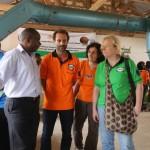 Anche il nostro presidente era presente all'Opening Forum, insieme a Filippo e Chiara, anime del Cast Kenya.