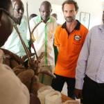 Il Ministro dell'agricoltura della Contea di Kilifi in visita all'Opening Forum del progetto Mihogo.