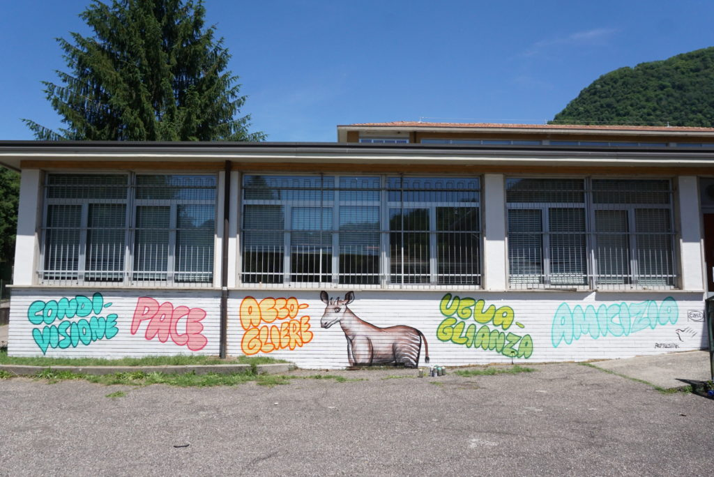 Scuola Media G.B. Monteggia, Laveno